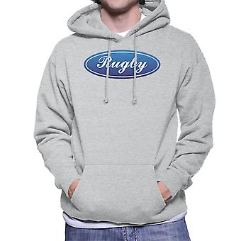Rugby Ford Logo Inspired Six Nations Men's Hooded Sweatshirt