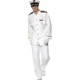 """Kostým kapitána Deluxe, hrudník 46 """"-48"""""""