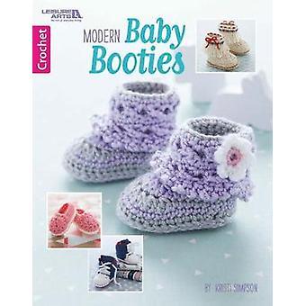 Modern Baby Booties by Kristi Simpson - 9781464757839 Book