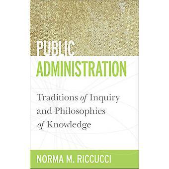 Offentlige forvaltning - traditioner for undersøgelse og filosofier af Know