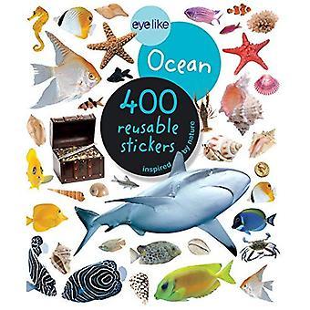 Ocean (öga som klistermärken)