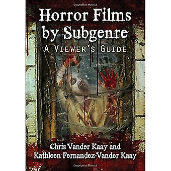 Horror Films by Subgenre: A Viewer's Guide