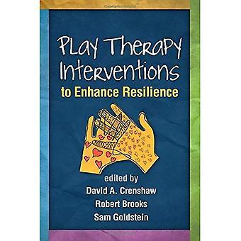 Lekterapi interventioner för att öka motståndskraften (kreativ konst och Lekterapi)