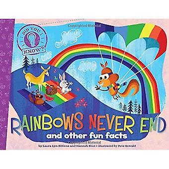 Regnbågar aldrig slut: Och andra roliga fakta (visste du?)