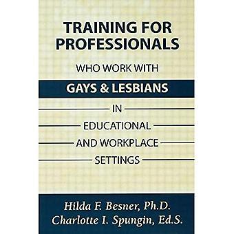 Trening fagfolk til å arbeide med homofile og lesbiske Youth