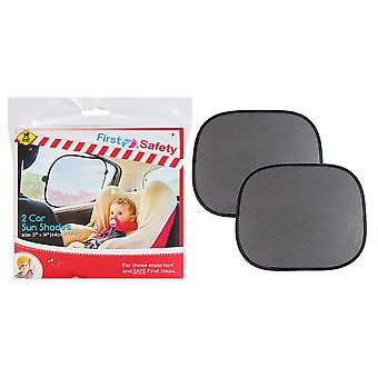 First Steps Pack Of 2 Car Sun Shades