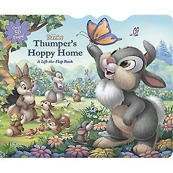 Disney Bunnies Thumper's Hoppy Home: A Lift-The-Flap� Board Book [Board book]
