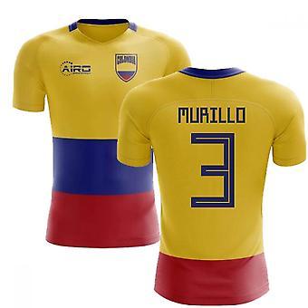 2020-2021 Colombie Drapeau Concept Football Shirt (Murillo 3)