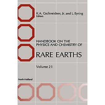 Handboek over de fysica en chemie van zeldzame aarden door GSCHNEIDNER