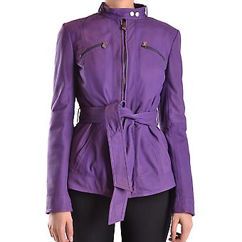 Peuterey Ezbc017025 Women's Purple Viscose Outerwear Jacket