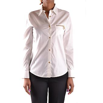 Love Moschino Ezbc061012 Women's White Cotton Shirt