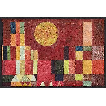 Salong lion dörrmatta slott och solen Paul Klee löpare