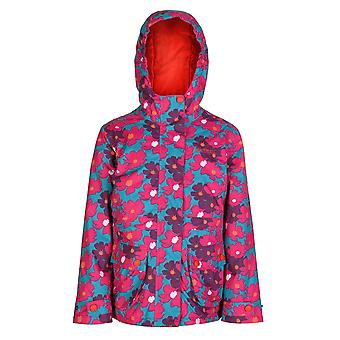 Regatta Great Outdoors Childrens Girls Bouncy Waterproof Jacket