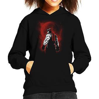 Camisola com capuz do guerreiro Ryu Street Fighter Kid