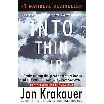 Into Thin Air by Jon Krakauer - 9780780780989 Book