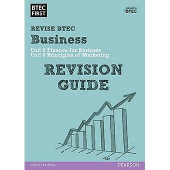BTEC First in Business Revision Guide - 9781446906682 Book