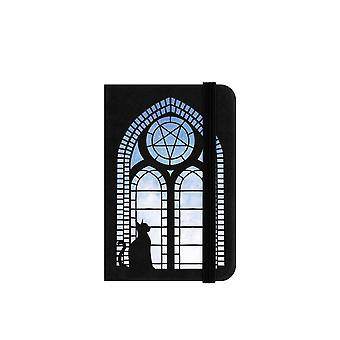 Grindstore Black Cat Fenestra Mini Black Notebook