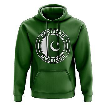 Pakistan fotball Badge hettegenser (grønn)