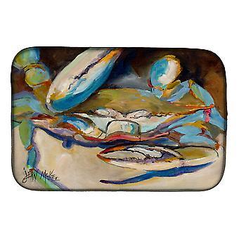 Carolines Treasures  JMK1099DDM Big Crab Claw Blue Crab Dish Drying Mat