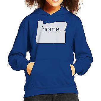 Oregon Is My Home Flock Kid's Hooded Sweatshirt