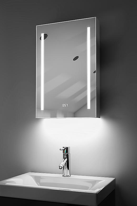Clock Cabinet With RGB , Demister, Sensor & Shaver k384rgb