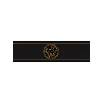 Versace svart grekiska nyckel Border 935224