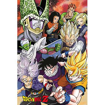 Dragon Ball Z celle Saga Maxi plakat 61x91.5cm