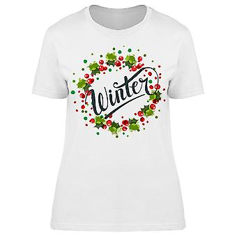 Winter Wreath Tee Women's -Image by Shutterstock