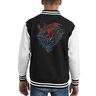 Alchemy Astrolabeus Kid's Varsity Jacket