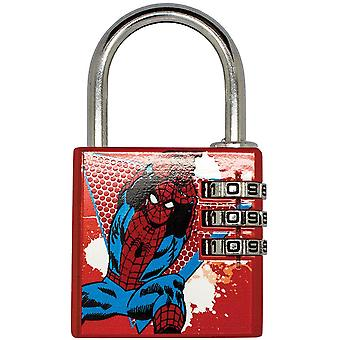 Marvel Comics Spider-Man Candado de latón