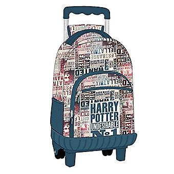 Artesania Cerda Mochila Carro Escolar Harry Potter Backpack - 49 cm - Blue (Azul)