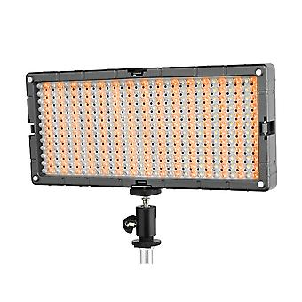 BRESSER SL-448-een slimline LED-video oppervlak licht (26,9 W/1,400 LUX) bi-color