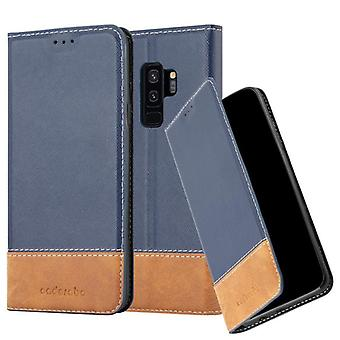 Case for Galaxy S9 PLUS Foldable Phone Case - Cover - with Stand Function and Card Tray