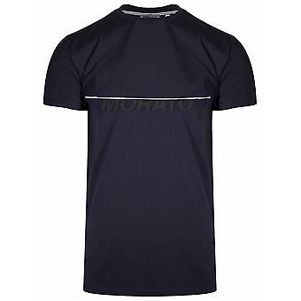 Antony Morato Sport Navy Print Logo T-Shirt