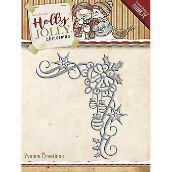 Find It Trading Yvonne Creations Die-Corner, Holly Jolly