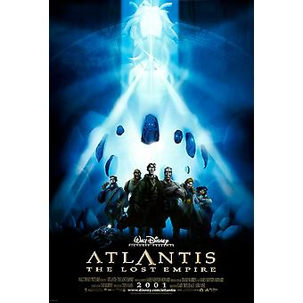Atlantis (Double Sided International) (2001) Original Cinema Poster