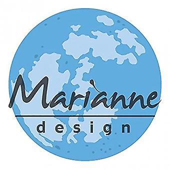 Marianne Design Creatables Mond sterben, Metall, blau, 11,1 x 11,3 x 0,2 cm