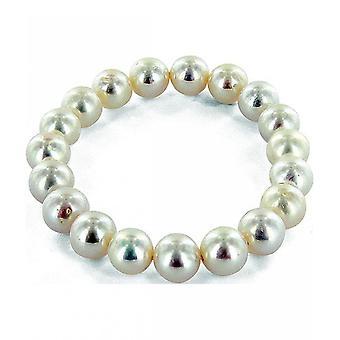 Luna-Pearls - Bracelet - Pearl Bracelet Freshwater Breeding Bead 9.5-10 mm 2040539
