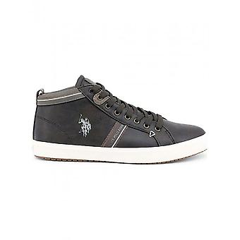 U.S. Polo - Chaussures - Sneakers - WOUCK7087W8-Y1-DKBR - Hommes - saddlebrown - 42