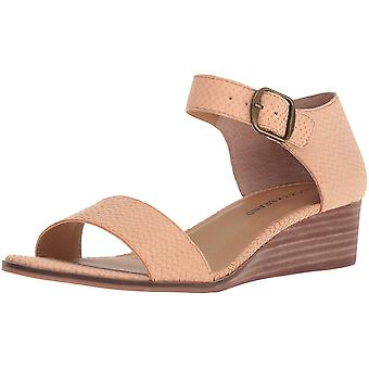 Lucky Brand Women-apos;s Riamsee Wedge Sandal, Amber Light, 7,5 M US