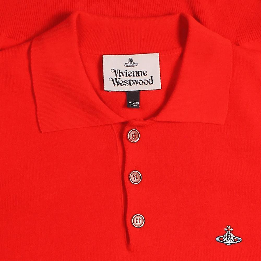 Vivienne Westwood Classic Knit Polo Shirt