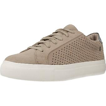 Carmela Sport / Serraje Color Taupe Sports Shoes