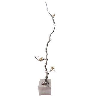 Aluminum Branch Decor Accent, Silver