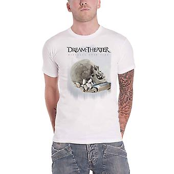 Dream Theater T Shirt Distance over Time Tour Skull Fade Out Official Mens