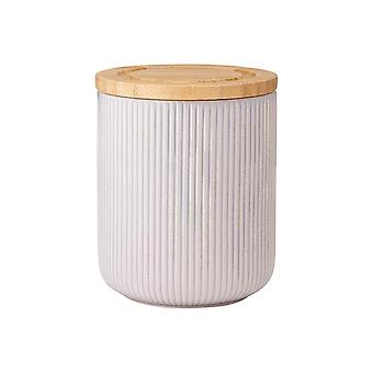 Ladelle STAK Canister gri texturat, 13cm
