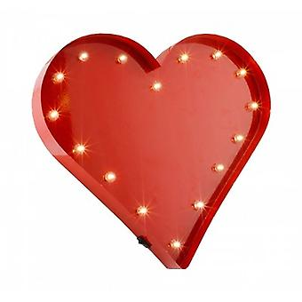 Red Heart LED Light