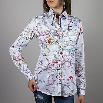 CLAUDIO LUGLI Mapping Musicians Ladies Shirt