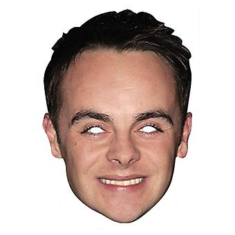 Ant McPartlin Celebrity Card Party Fancy Dress Mask