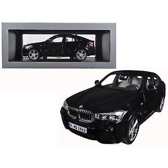 BMW X4 (F26) Sapphire Black 1/18 Diecast Model Car par Paragon