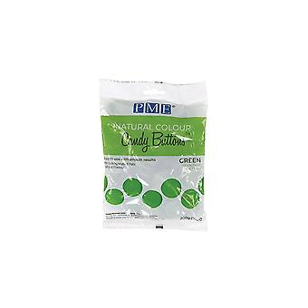 PME Natural Candy Buttons - Groen - 200g